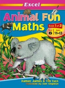 Book Cover: Animal Fun Maths
