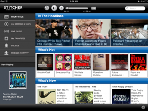 Stitcher Screenshot