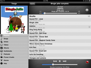 iPad Tango Screenshot