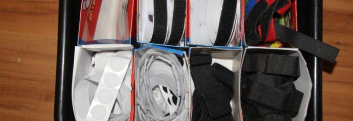 Velcro Storage