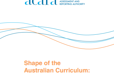 Australian Curriculum: The Arts Foundation to Year 10