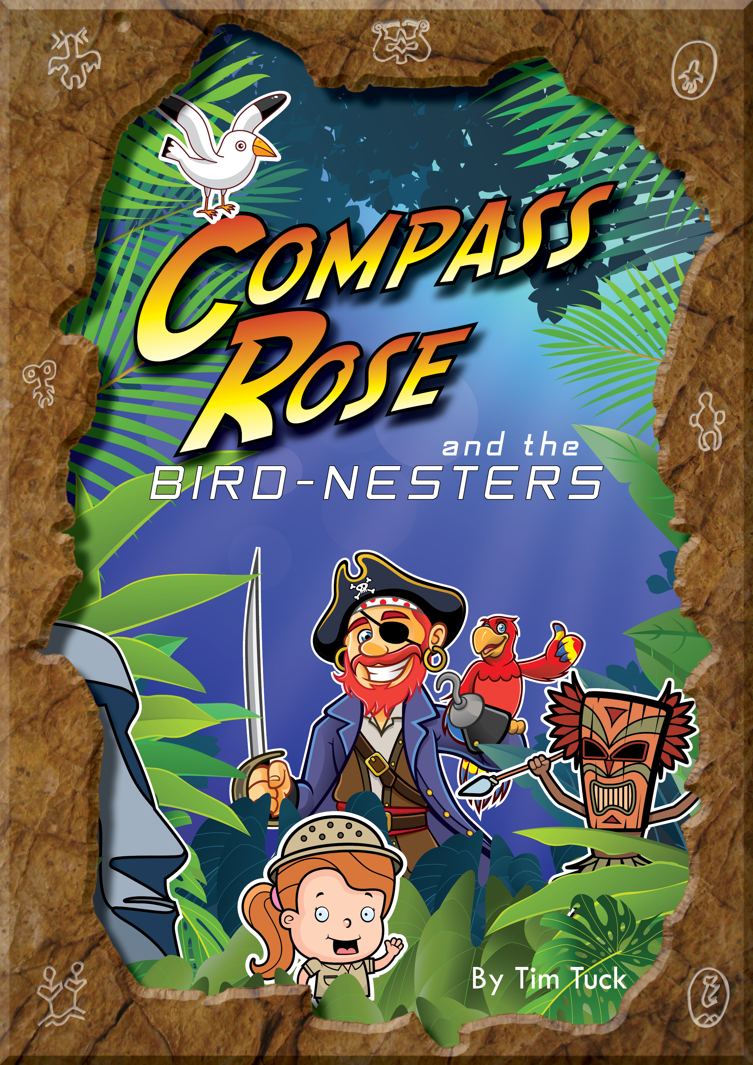 Compass Rose and the Birdnesters Poster