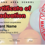 Year 2 Graduation Certificate