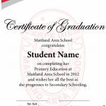 Year 7 Graduation Certificate